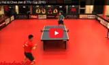 徐輝VS陳剣 ETTU CUP 2014/15