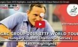 Jセイブの試合(予選) ハンガリーオープン2015