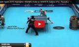 アイーダの試合(女子予選)クウェートオープン2015