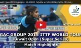 ビレンコの試合(女子予選)クウェートオープン2015