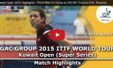 トロシネワの試合2(予選)クウェートオープン2015