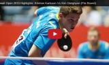 金東賢VSカールソン(予選)クウェートオープン2015