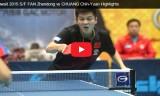 樊振東VS荘智淵(準々決勝)クウェートオープン2015