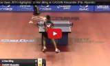 李漢銘の試合(予選) カタールオープン2015
