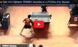 ロビノの試合(予選) カタールオープン2015