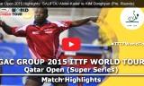 金東賢VSサリフ(予選)カタールオープン2015