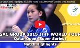クマハラの試合(予選)カタールオープン2015