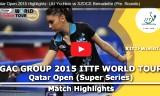 スッチの試合(予選)カタールオープン2015