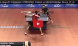 サムソノフVSシュテガー(2回戦)カタールオープン2015