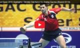 オフチャロフVSガシナ(2回戦)カタールオープン2015