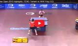 馮天薇VSハンイン(準決)カタールオープン2015