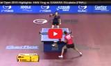 サマラVSハンイン(決勝)カタールオープン2015