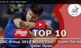 トップ10ショット カタールオープン2015