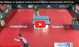 決勝戦・フランス(国内)選手権2015