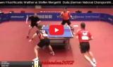 男子ダブルス決勝戦 ドイツ選手権2015
