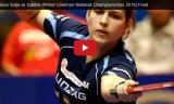 ゾルヤVSウィンター(決勝) ドイツ選手権2015