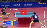 水谷隼VS許昕(短時間) アジアカップ2015