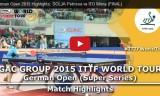 伊藤美誠VSソルヤ(決勝戦)ドイツオープン2015