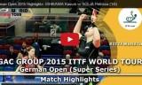 石川佳純VSソルヤ(準々)ドイツオープン2015