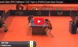 女子の試合(予選) スペインオープン2015