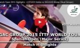 男子の試合(予選) スペインオープン2015