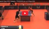 李平の試合(1回戦) スペインオープン2015