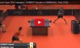 ドリンコールVSロビノ スペインオープン2015