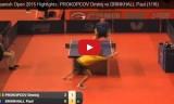 ドリンコールの試合(2回戦)スペインオープン2015