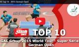 トップ10ショット! ドイツオープン2015