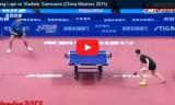 王励勤VSサムソノフ 中国マスターズ2015