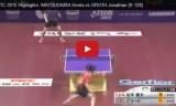 松平健太VSグロート(1回戦)世界選手権2015