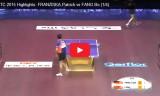 方博VSフランツィスカ(準々)世界選手権2015