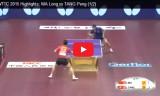 馬龍VS唐鵬(準々決勝)世界選手権2015