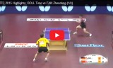 樊振東VSティモボル(準々)世界選手権2015