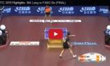 馬龍VS方博(男子決勝戦)世界選手権2015