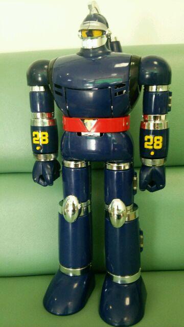 超金属鉄人28号 装甲装着