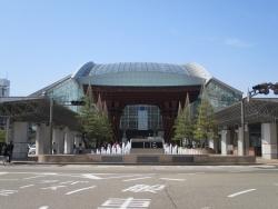 金沢駅全景