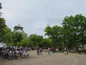 大阪城前広場