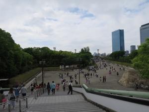 大阪城駅前
