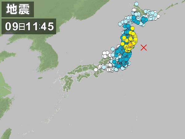 2011.3.9 三陸沖地震