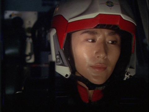 金星に再突入したユミムラ・リョウ隊員(演:斉藤りさ)
