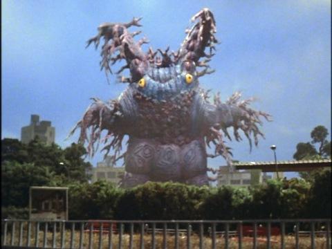 紫外線怪獣 グロブスク