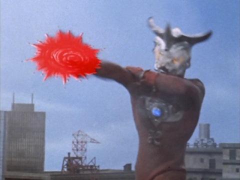 ウルトラマンレオのエネルギー光球②