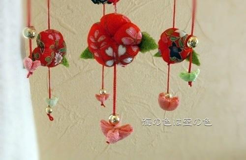 2015雛祭さげもん吊るし飾り 桃