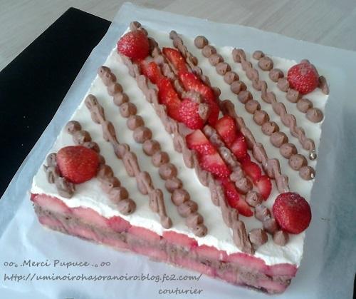 pupuceさん 手作りケーキ