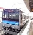 14:04 この列車に乗りました。