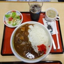 18:55 牛タンカレー 980 円