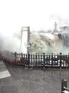草津の湯畑