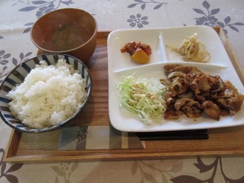 生姜焼き定食 ¥650
