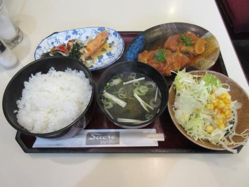 日替りランチ(肉、魚)